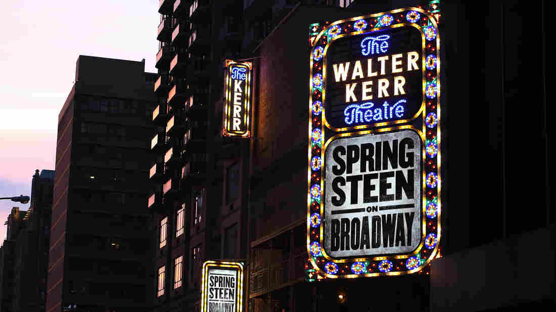 'Springsteen On Broadway' Makes A Tidy Sum Its First Week
