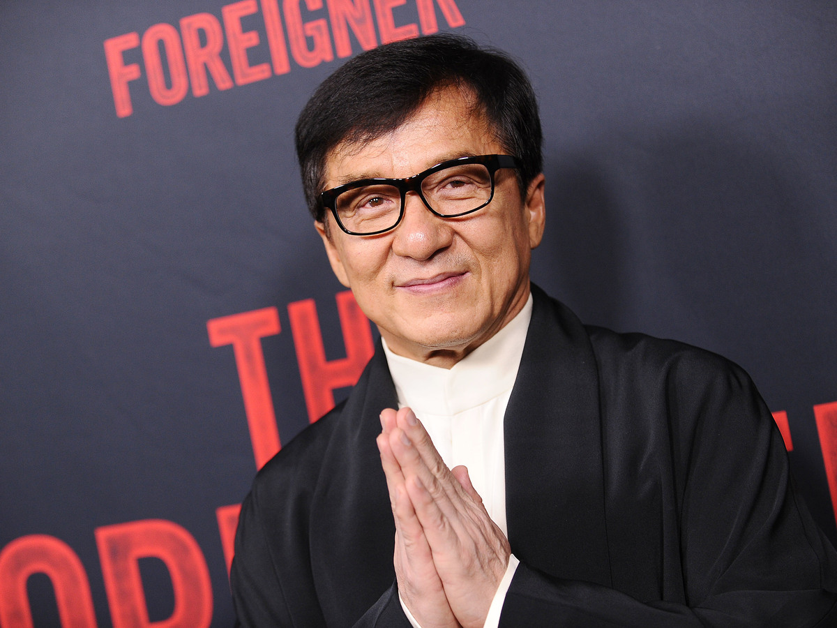 Jackie Chan Jumps Back...
