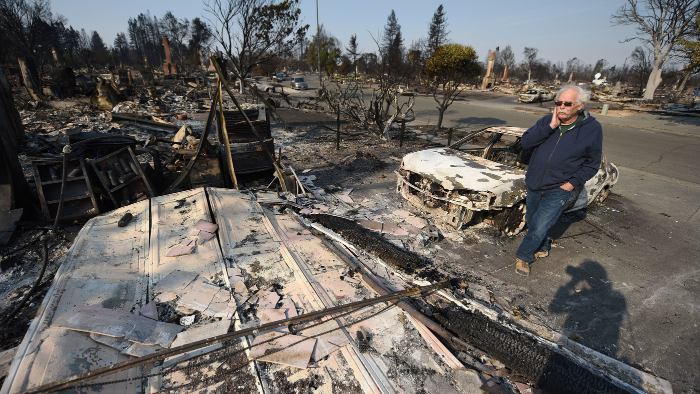 California Wildfires Have Now Killed At Least 23 People; More High Winds Forecast