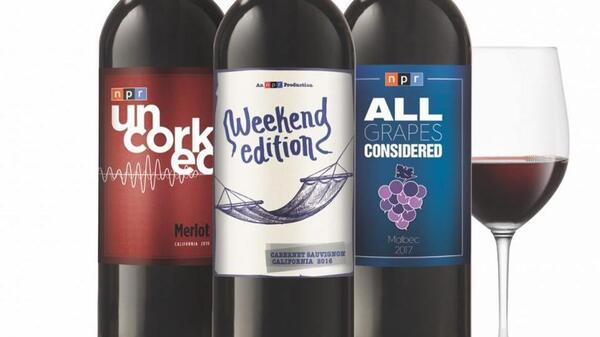 The NPR Wine Club offers three varieties of reds, inspired by NPR shows.