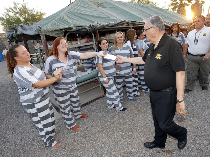 Sheriff Joe Arpaio's Infamous 'Tent City Jail' Closes : The Two-Way