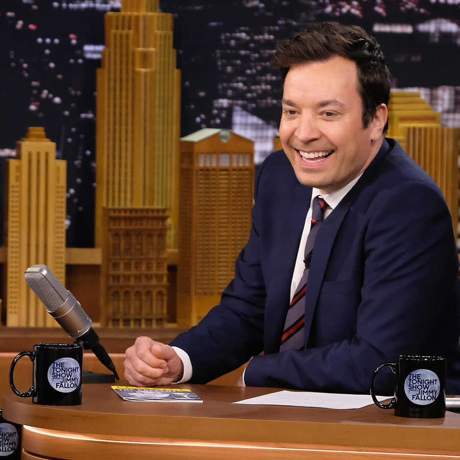 """Jimmy Fallon to Critics of Trump Interview: """"Have You Seen My Show?"""" 