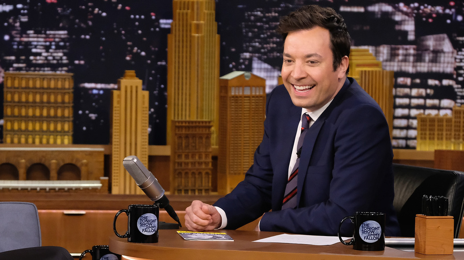 """I'm meant to make people happy. That's my job,"" says <em>Tonight Show</em> host Jimmy Fallon."
