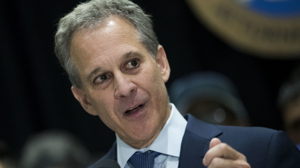 New York Attorney General Eric Schneiderman says he