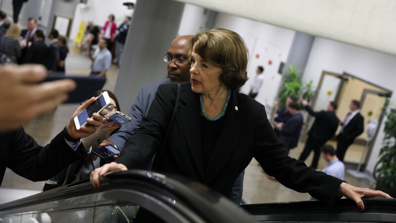 Facing Unrest On The Left Dianne Feinstein Draws A Primary Opponent