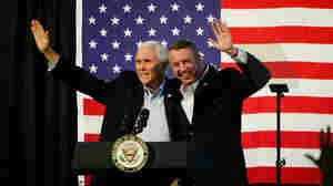 Vice Presidents Enter Fray In Final Weeks Of Virginia's Governor Race