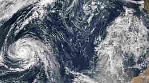 Already A Historic Storm, Weakening Ophelia Draws A Bead On Ireland, U.K.