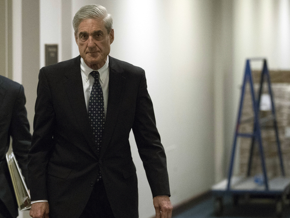 Former FBI Director Robert Mueller, the special counsel tasked with investigating Russia's role in the 2016 election for the Justice Department, departs Capitol Hill in June. (Andrew Harnik/AP)