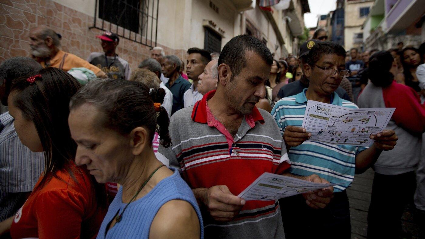 Venezuela's Ruling Party Wins Surprise Victory In Regional ...
