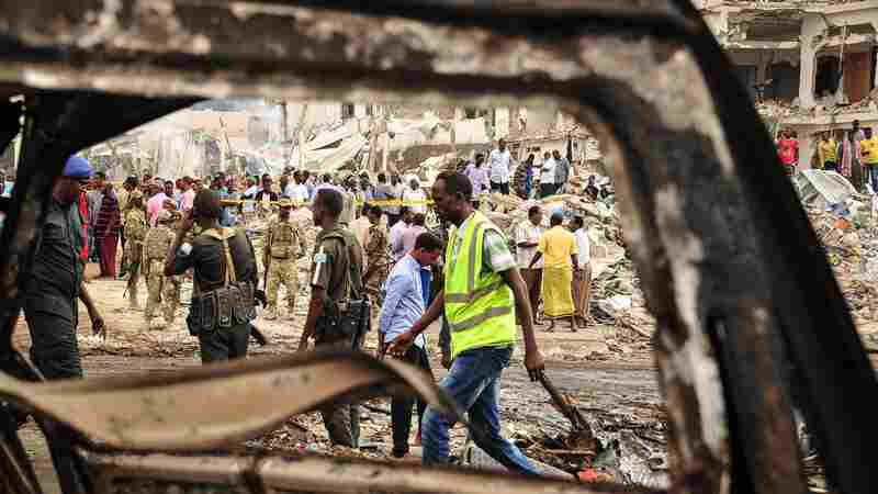 Somalis Grasp For Answers After 'Deadliest Single Attack Somalia Has Ever Faced'