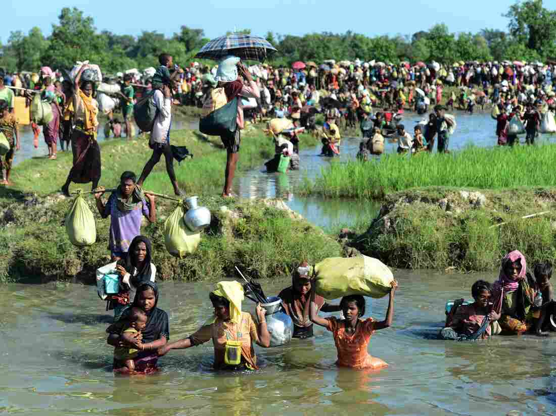 Myanmar military responsible for Rohingya crisis