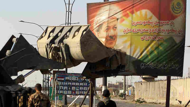 Iraqi Troops Enter Kirkuk, Seeking To Take Oil-Rich Area Back From Kurds