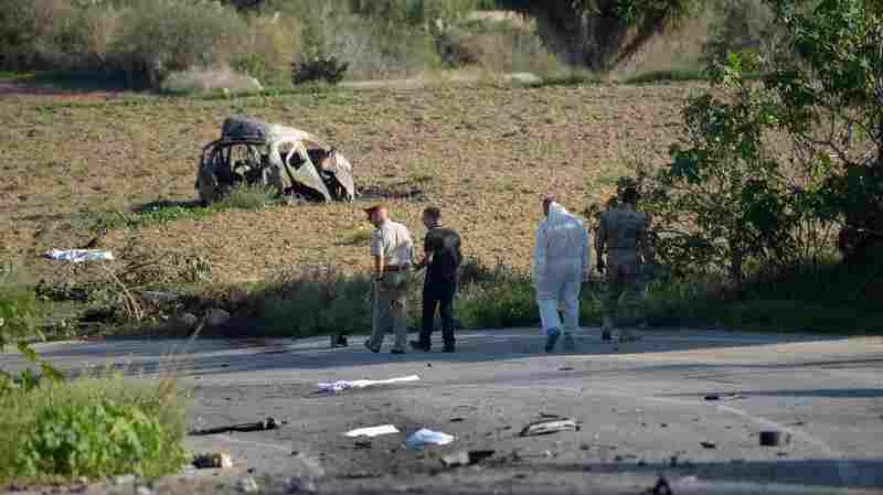 Daphne Caruana Galizia, Top Investigative Reporter In Malta, Killed By Car Bomb