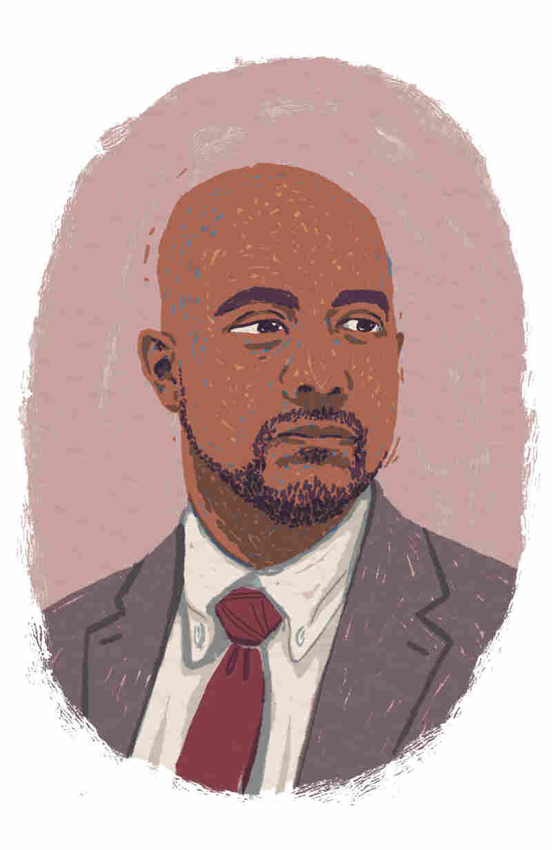 Principal Ben Williams (LA Johnson/NPR)