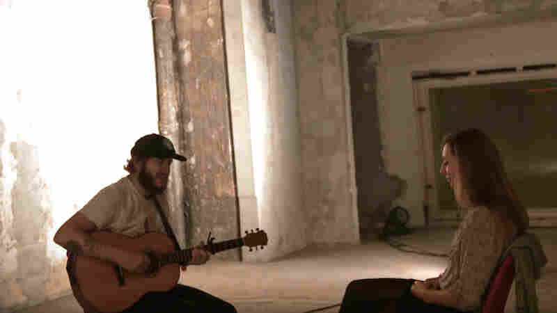Watch As Bon Iver's Justin Vernon Plays A Song To A Single Person