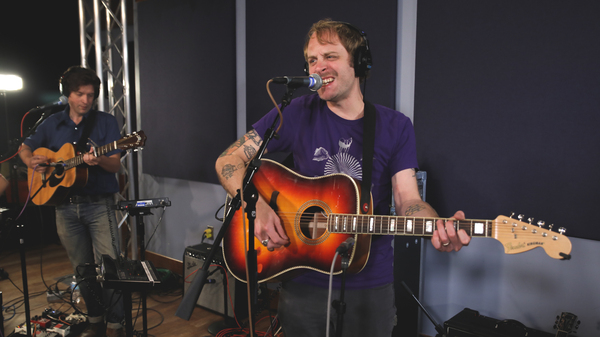 Deer Tick in the World Cafe Performance Studio
