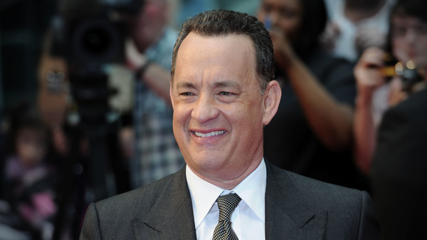 Actor Tom Hanks attends the  premier of Larry Crowne at the Westfield Shopping Centre in London.