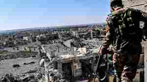 ISIS Makes Last Stand At A Stadium In Raqqa, Its Doomed 'Capital'