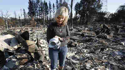 A Third Of California's Fire Evacuees Still Waiting To Go Home