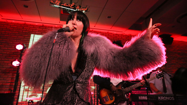 On Fever To Tell, Karen O creates art that breaks down boundaries in a very public way.
