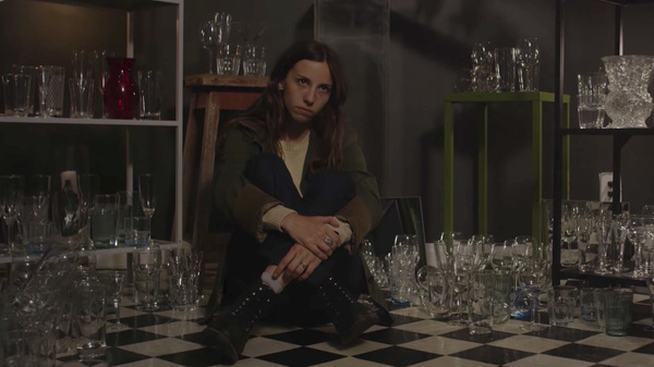 "A scene from The Wild Reeds video for the song ""Capable."""