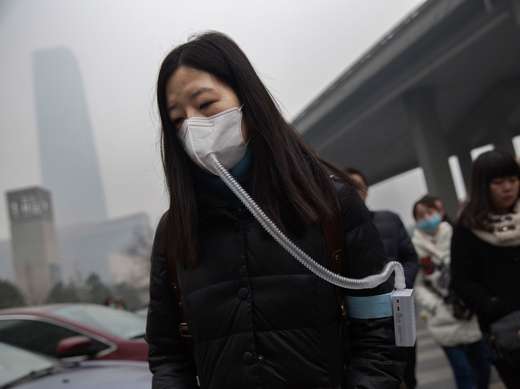 Air pollution kills 50000 people in UK