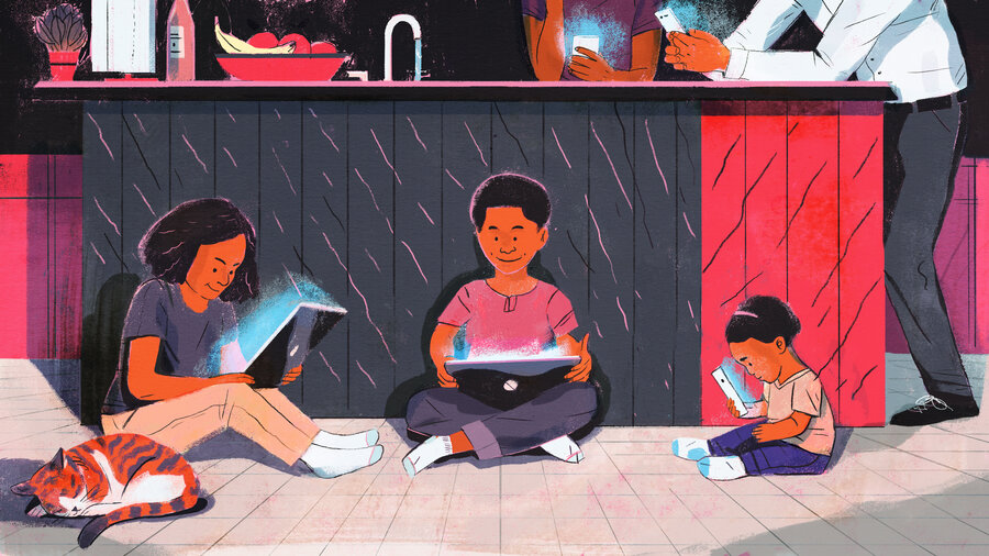 young children are spending much more time in front of small screens - Young Children Pictures