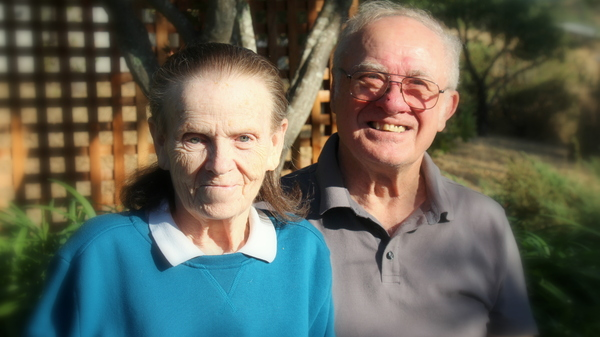 The photo of Leroy and Donna Halbur was taken August 12, 2017 at the celebration of their 80th birthdays and 50th wedding anniversary.