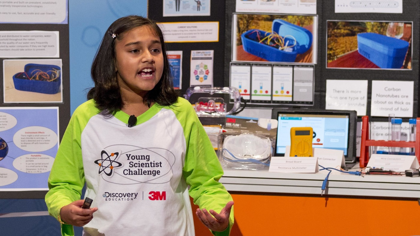 Troubled By Flint Water Crisis, 11-Year-Old Girl Invents Lead
