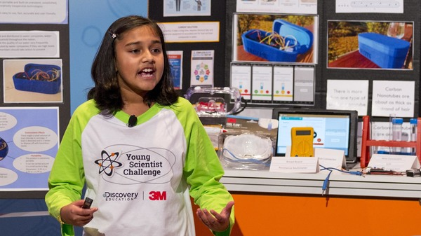 "Gitanjali Rao, 11, says she was appalled by the drinking water crisis in Flint, Mich. — so she designed a device to test for lead faster. She was named ""America"