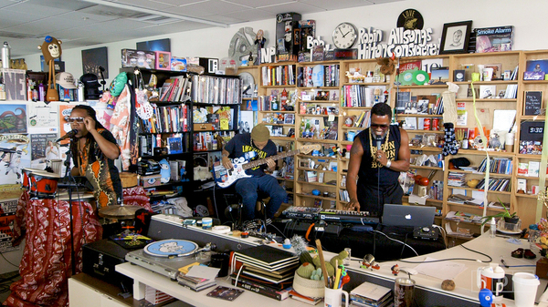 Shabazz Palaces: Tiny Desk Concert