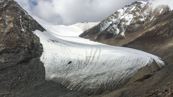 China's glaciers are melting