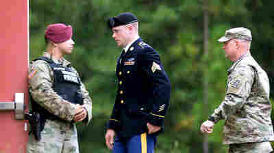 At A Hearing For Bowe Bergdahl, The Focus Is On President Trump