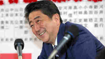 Japan's Prime Minister Isn't Popular, But His Coalition Won A Supermajority