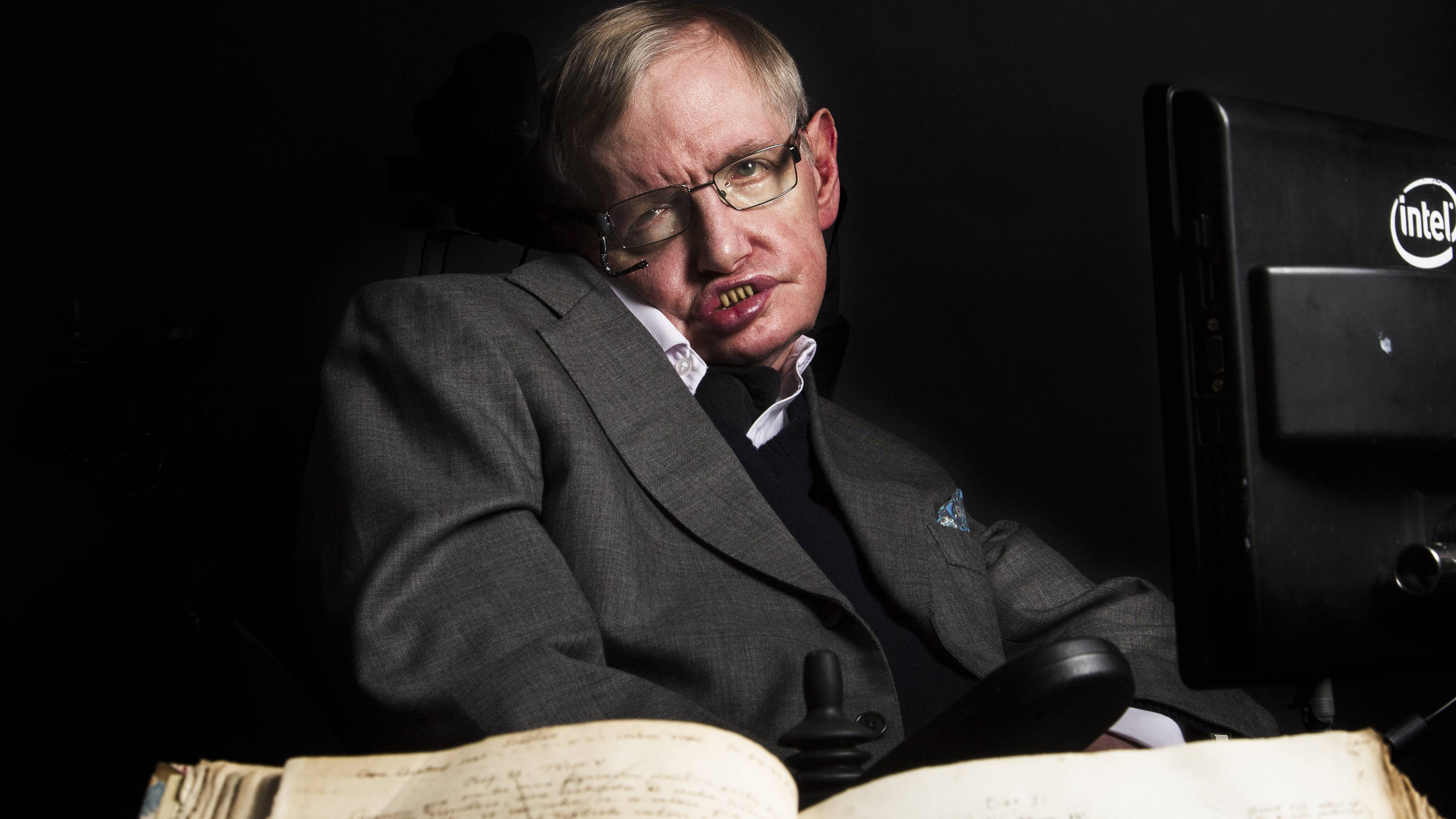 Stephen Hawking's Ph.D. Thesis Crashes Cambridge Site After It's Posted Online