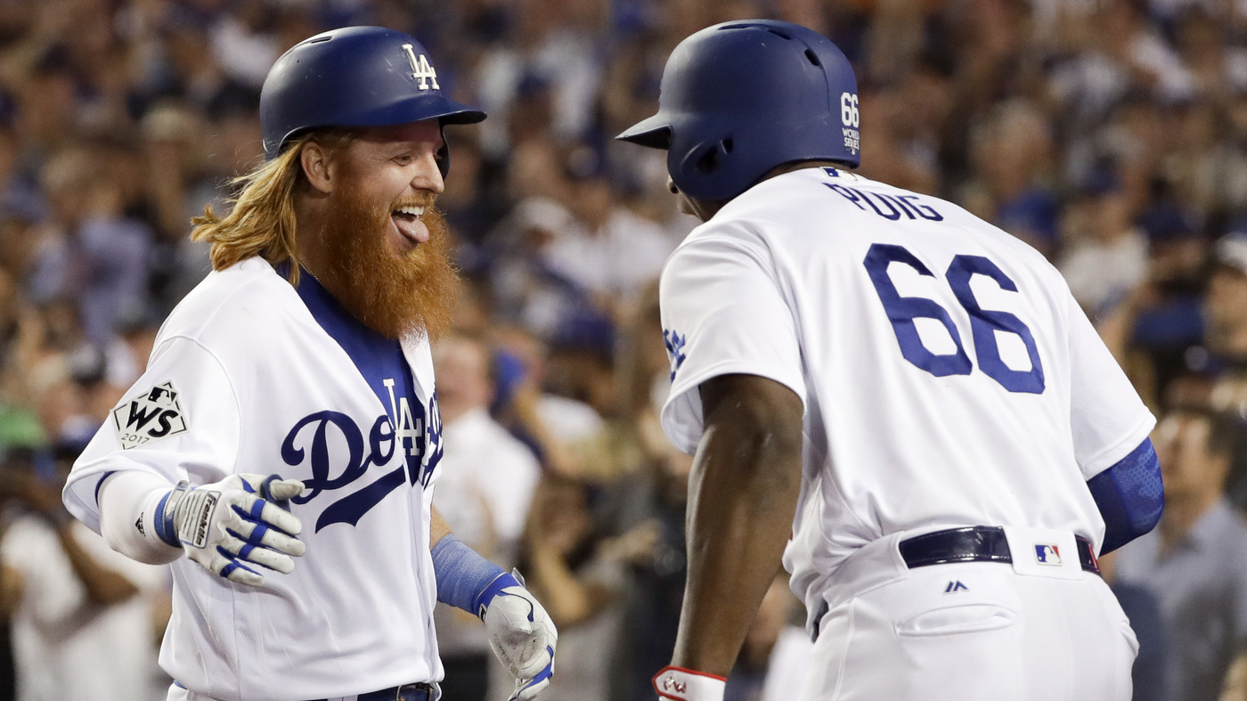 112375971 Dodgers Beat Astros 3-1 In Game 1 of The 2017 World Series   The Two-Way    NPR