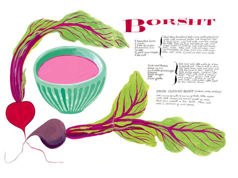9e10a9ddfb A Rare Find  Trailblazing Female Designer s Unpublished Family Cookbook