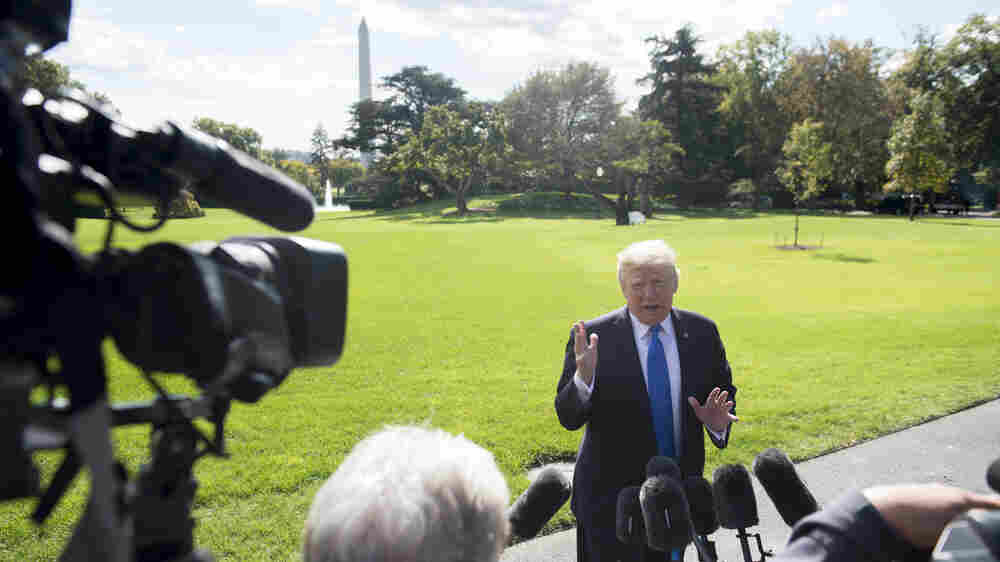 Trump, Supporters Go On Offense After Report Of Clinton Tie To Dossier