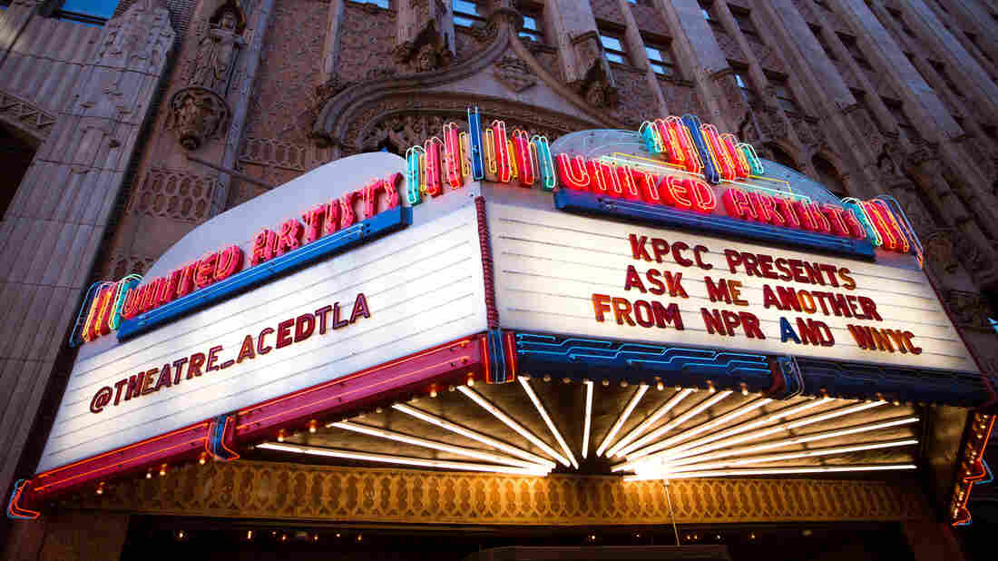 Ask Me Another at the Theatre at Ace Hotel in Downtown Los Angeles.
