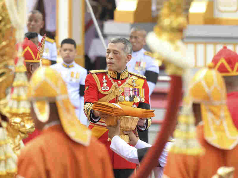 Thailand's King Maha Vajiralongkorn takes part in the funeral of late Thai King Bhumibol Adulyadej in Bangkok, Thailand.