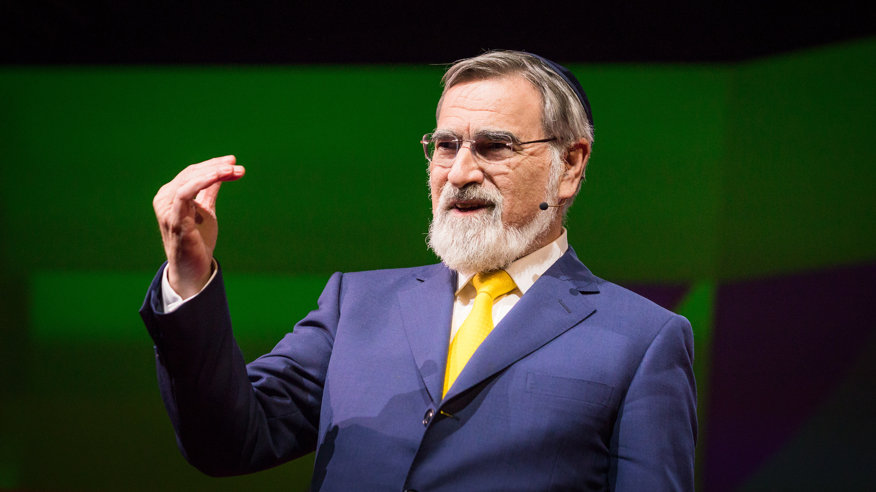 Image for Rabbi Jonathan Sacks: Does Our Future Depend On More Dialogue? Article