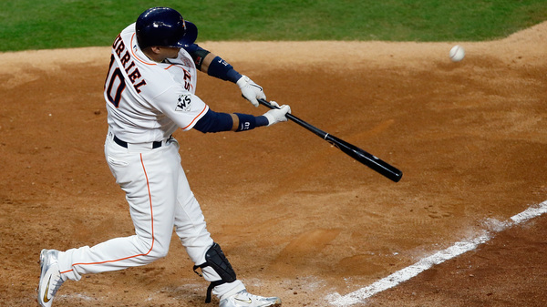 Yuli Gurriel will be suspended for five games in the 2018 season, and will receive sensitivity training in the off-season.