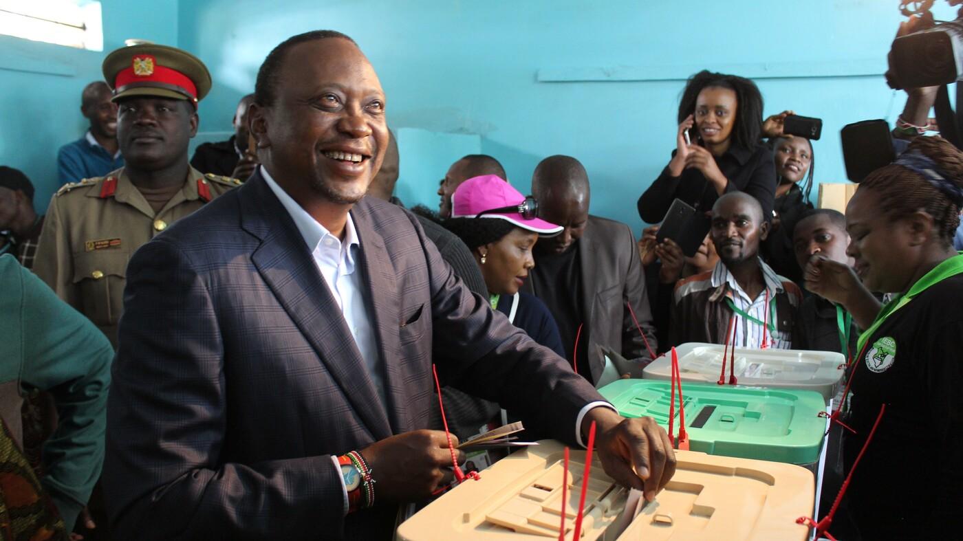 Kenya Declares President Kenyatta Winner Of Disputed Election