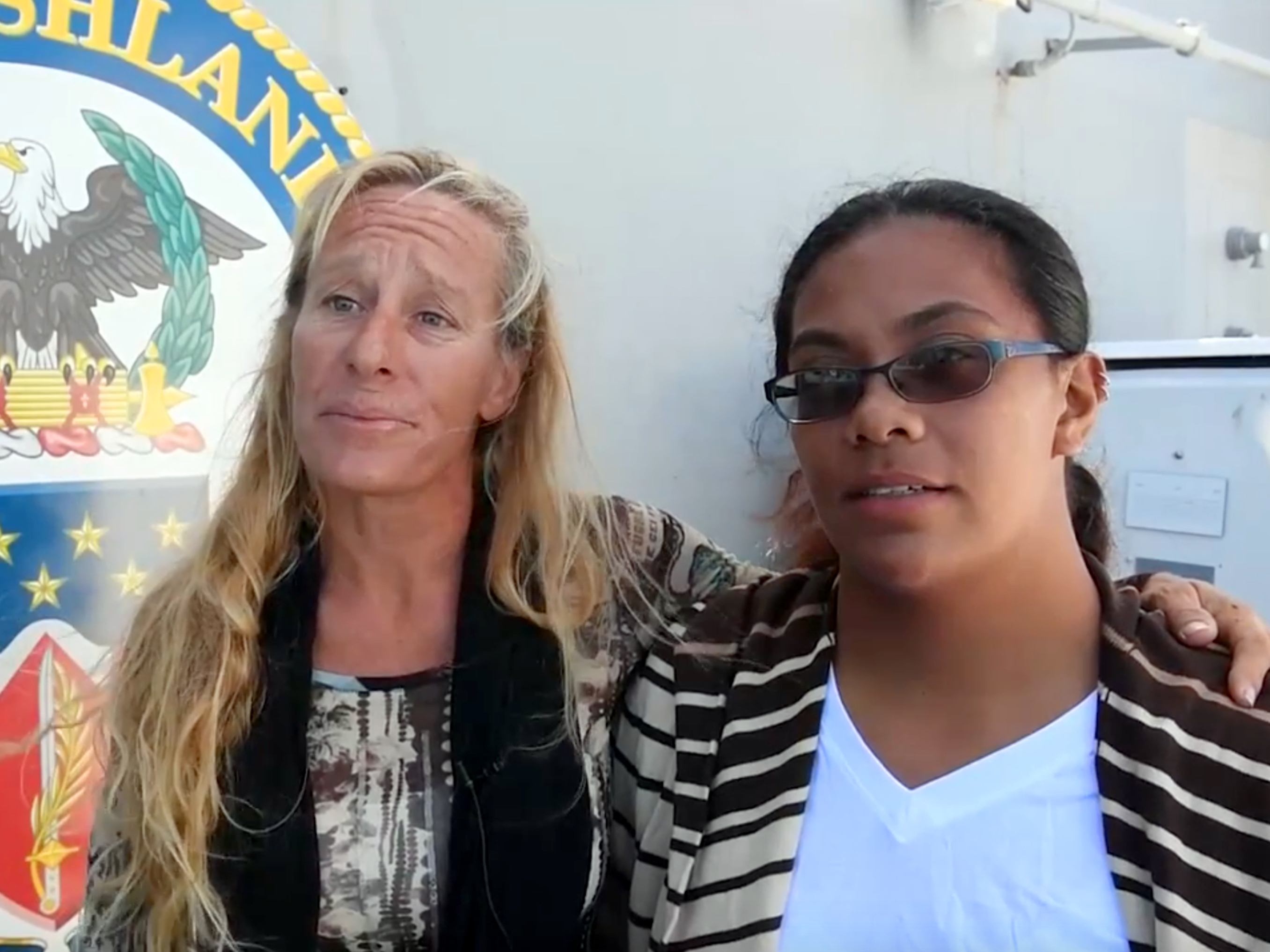 After Navy Rescue Of Sailors Adrift At Sea, The Story Gets Stranger