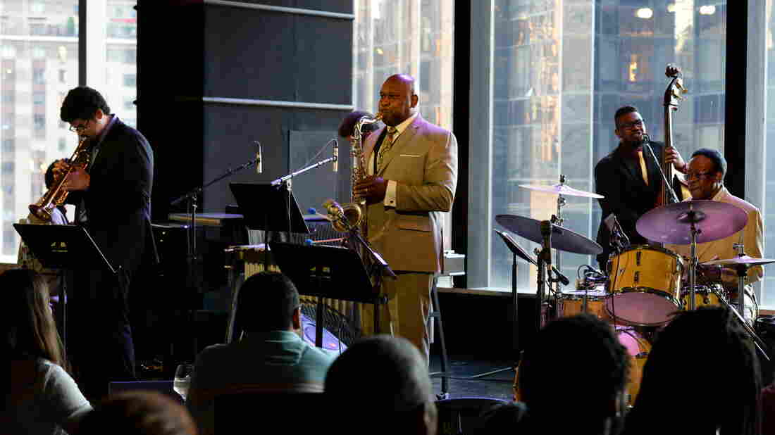 Louis Hayes' at Dizzy's for his 80th