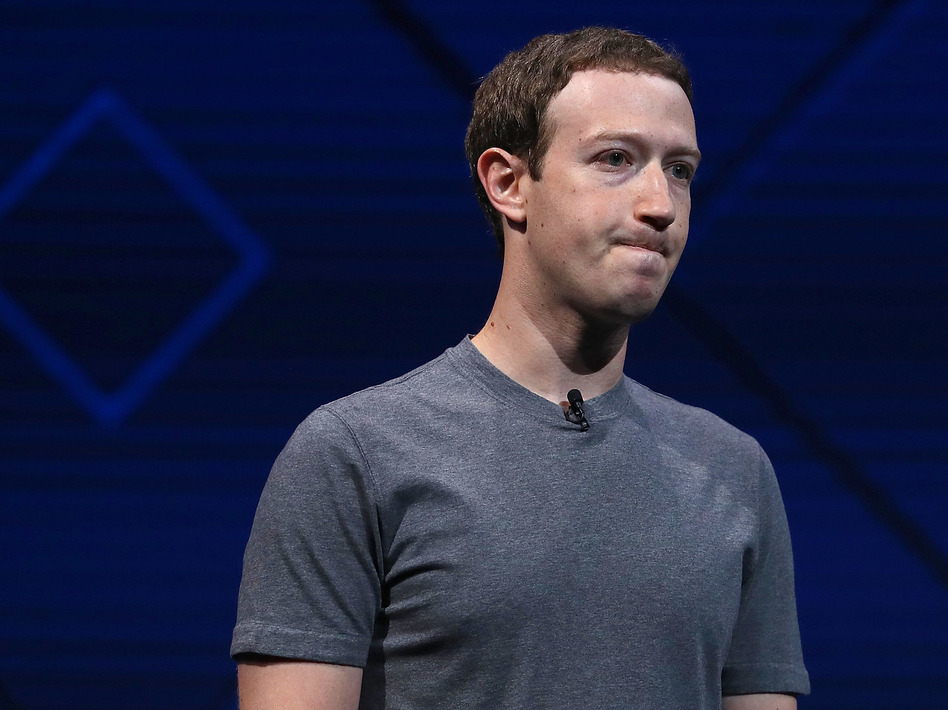 Facebook CEO Mark Zuckerberg has said connecting the world means bringing people together. But increasingly the platform is being used by some very powerful elements to sow divisions. (Justin Sullivan/Getty Images)
