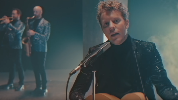 "Anderson East in the ""King For A Day"" video, a track featured on Encore, out Jan. 12, 2018."