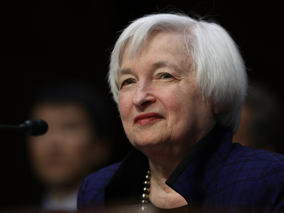 Janet Yellen has served as chair of the Federal Reserve Board since 2014. (Win McNamee/Getty Images)