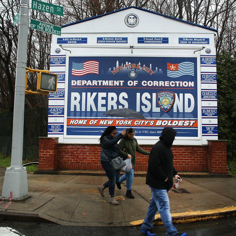 Rikers Settles Class Action Solitary Confinement Case : NPR