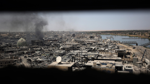 A view on Mosul